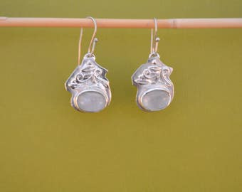 Moostone Earrings