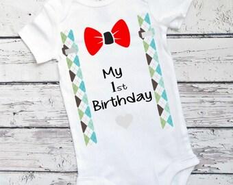 40% OFF-Boys First Birthday Outfit, Boys Birthday Outfit, Baby Boys Birthday, Birthday Shirt, First Birthday, Baby Boys Clothes, Boys First