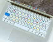 Emoji Silicone Keyboard Software  Cover For EU MacBook Air 13 MacBook Pro 13 15 Apple Wireless Keyboard  Type Emoji!