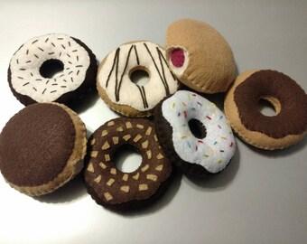 Interactive Felt Food Donuts