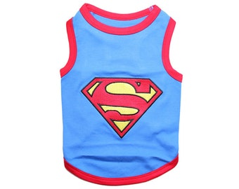 Superdog Dog T-Shirt, Dog Clothes, Pet Shirts