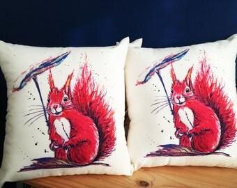 Squirell cushions