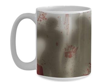 Zombie Apocalypse 11oz. Mug - Walkers In Your Mug