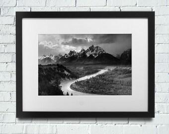 Ansel Adams, ansel adams photo, ansel adams print, ansel adams art, ansel adams nature, classic ansel adams, ansel adams decor, MATTED 16x20
