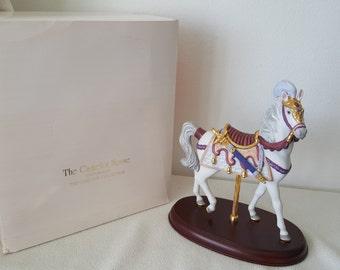 The Lenox Camelot Carousel Horse/ 19