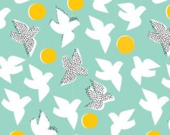 Sale Organic Fabric, Organic Cotton Poplin, Cotton Fabric by the Yard, Cloud9 Fabric