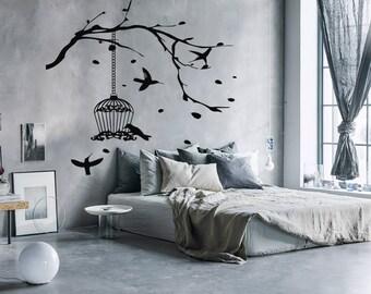 Muur sticker sticker slaapkamer tennis racket ballenjongen