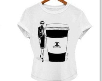 T-shirt. White