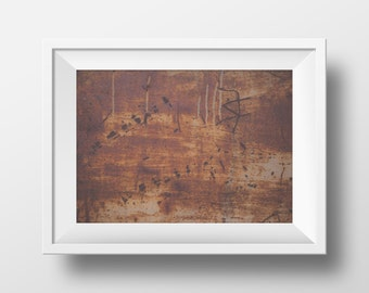 Rust Print, Red Print, Red Art, Urban Photography, Abstract Art, Red Wall Art, Photography, Urban Print, Instant Download Art