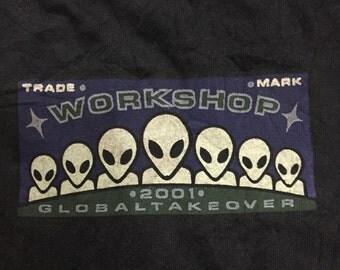 Vintage 90s Alien Workshop Skateboard Shirt