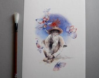 Kyosei - Fine Art Print