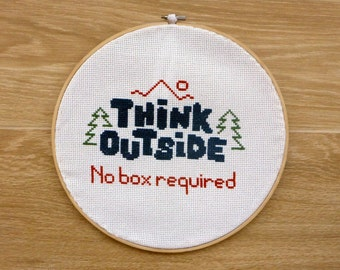 Cross stitch of your favorite quote