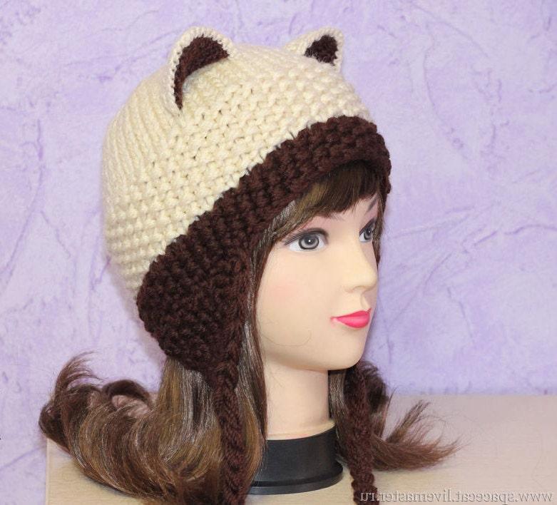 Crochet Cat Ears Hat Cat Ears Beanie Cat Beanie Cat Hat