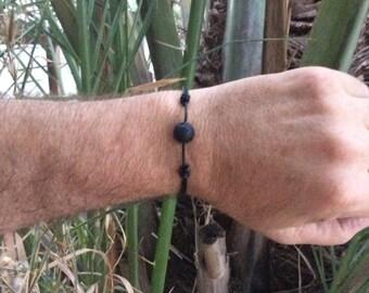 Volcanic Rock Surfer Bracelet, Surfer Bracelet , Volcanic Rock Bracelet by JL JewelryNovelties