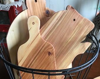 Set of Three Serving Boards/Handmade/Wood Craft/Farmhouse Cutting Board Set/ Bread Board/ cutting boards