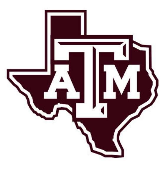 Vinyl Decal Sticker -Texas A&M Decal for Windows, Cars, Laptops, Macbook, Yeti, Coolers, Mugs etc