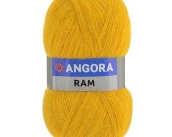 Mohair yarn, ANGORA RAM YARNART, Yarn mohair, Yarnart, Yarn, mohair with acrylic, Knitting (547  yards)