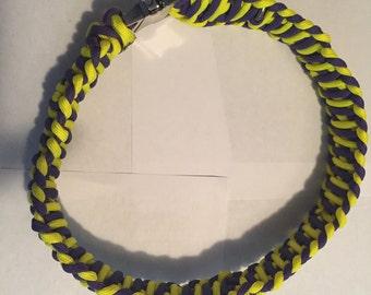 Paracord Dog Collar - Cobra Weave