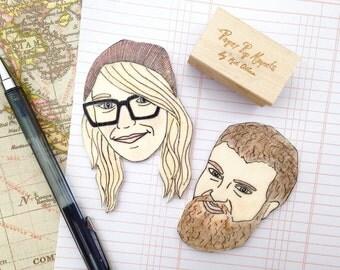 Custom Face Magnet /Best Friend Birthday Gift/Birthday Gift for Friend/ Best Friend Gift/Gift for friend/Funny Birthday Gift/Custom Portrait