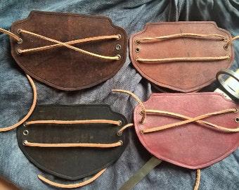 Leather Half-Bracer