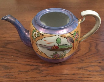 Vintage (c. 1930s/40s) Mikori Japanese teapot