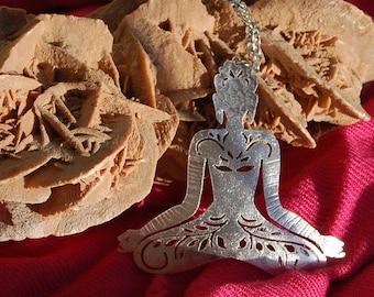 Meditating Buddha pendant