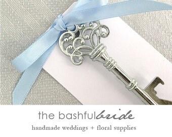 Bottle opener wedding favor, Cheap wedding favor, skeleton key bottle opener, bachelorette party favor, party favor, bridal shower favor