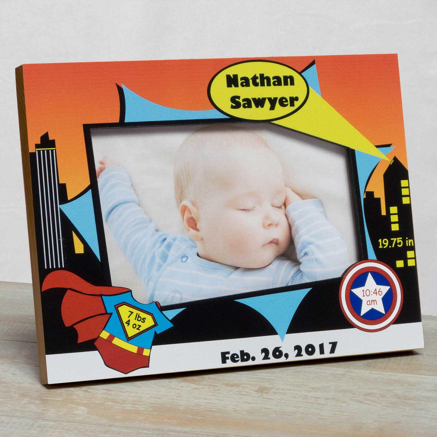 Personalized Baby Picture Frame, Baby Boy Picture Frame, New Baby ...