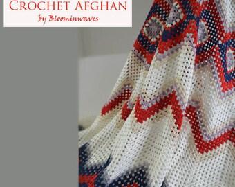 Crochet Afghan, Girls blanket