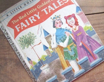 Fairy Tales A Little Golden Book Vintage The Red Little Golden Book