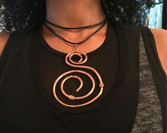 The Spiral Pendant