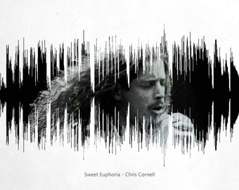 Sweet Euphoria - Chris Cornell Soundwave Poster