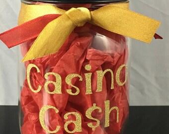 Casino Cash Kerr Mason Coin Jar