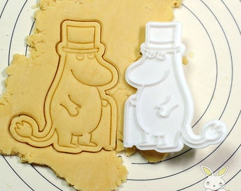 Moomin Papa Cookie Cutter and Stamp