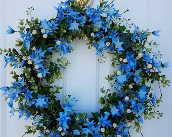 Summer Sky Wreath