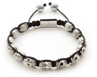 Jahamota Spiritual Bracelet - Silver Treasure