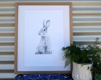 A3 Bunny Print (Ed. 9 of 50)