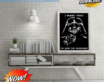 Darth Vader Wants You To Join The Darkside Digital Art!