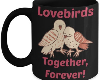 Valentine Mug For Kids - Lovebirds