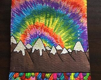 Tie Dye Mountains