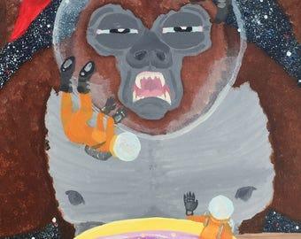 Gorilla in Space