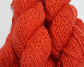 3 Ply Bulky Yarn, Red Hot Chilies!