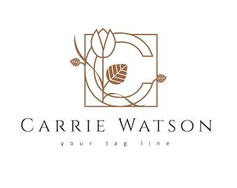 Premade logo design, premade logo, logo design for Jewelry Designer, Photographer Logo, Wedding Logo