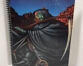 Blue Oyster Cult Album Cover Notebook Handmade Spiral Journal