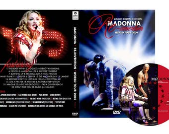 Reinvention Tour Deluxe Edition DVD - Madonna