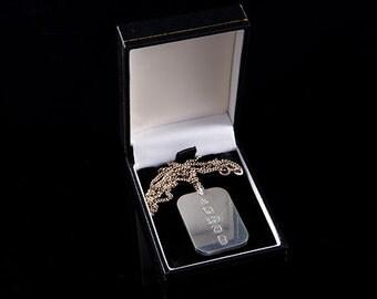 Queen Elizabeth II Jubilee silver pendant