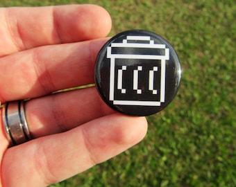 Trash Icon Button - Buttons, Computer Icons, Retro Computer Icons, Vintage Computer Icons