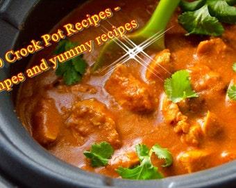 470 Crock Pot Recipes -Simpes and yummy recipes