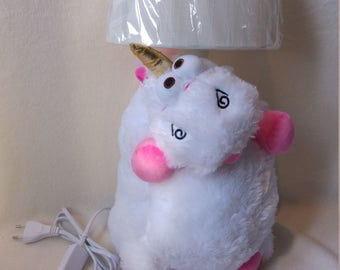 unicorn lamp- nightlight , Gift for girls, Babyshower gift, Pony night light, Baby lamp, Nightlight pony.