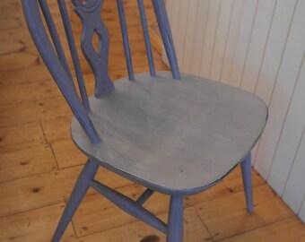 Ercol Fleur De Lye Round back Painted Chair